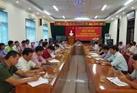 Hội nghị sơ kết công tác 6 tháng đầu năm, triển khai nhiệm vụ công tác 6 tháng cuối năm