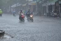 Tin cảnh báo mưa lớn kèm theo dông lốc