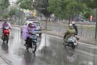 Thông báo tình hình mưa dông trên diện rộng
